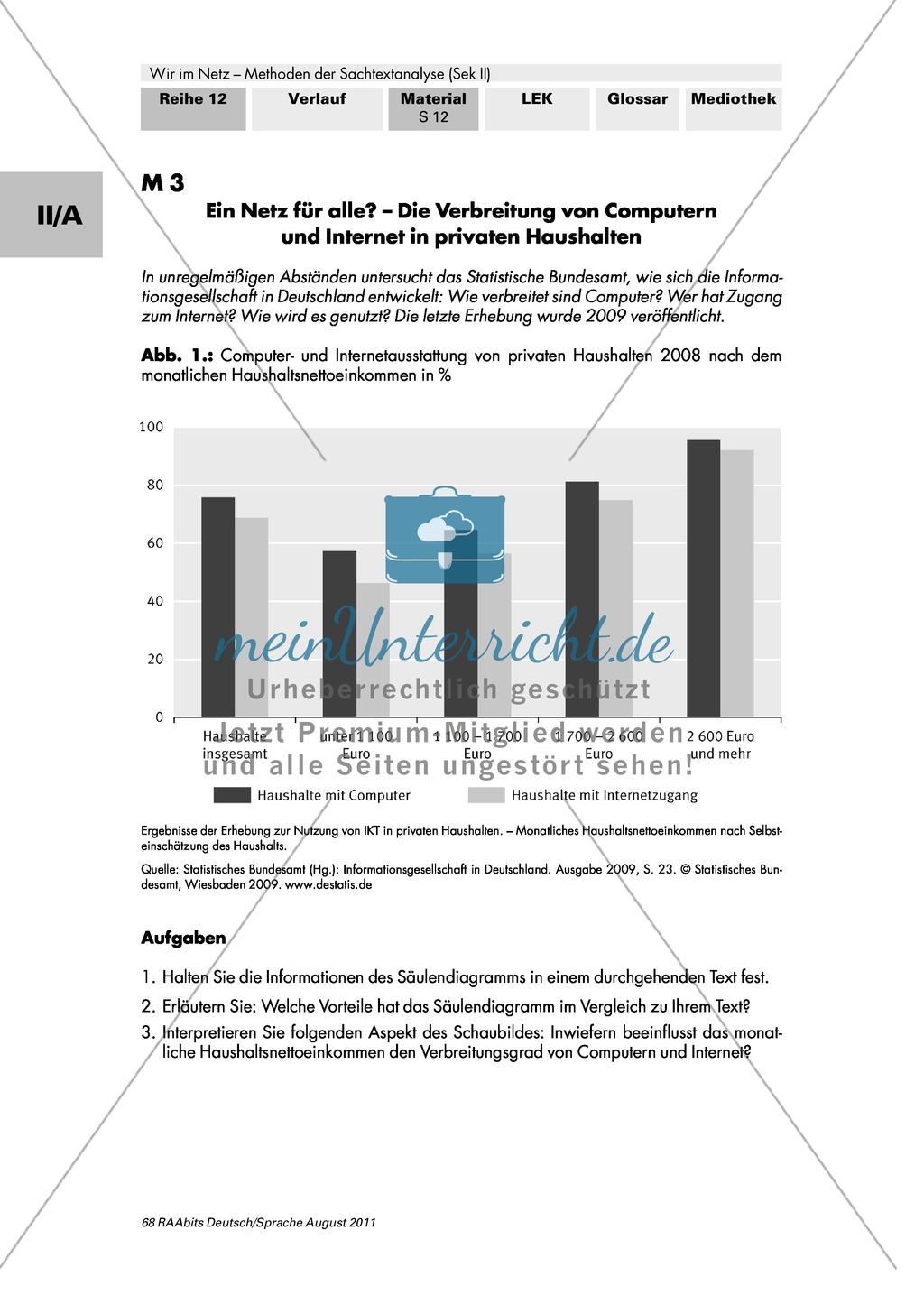 Statistiken: Die Informationsgesellschaft in Deutschland Preview 0