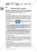 Deutsch, Literatur, Fiktionale Texte, Umgang mit fiktionalen Texten, Balladen, Analyse fiktionaler Texte, Gattungen, Merkmale von Balladen