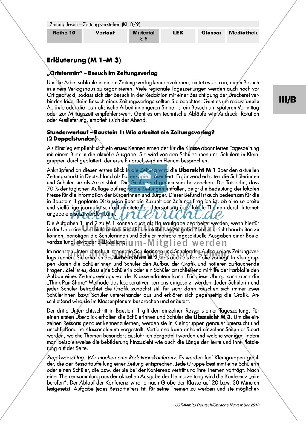 Wie arbeitet ein Zeitungsverlag? Tageszeitungen in Deutschland, Aufbau eines Verlags und die Einteilung in Ressorts Preview 5
