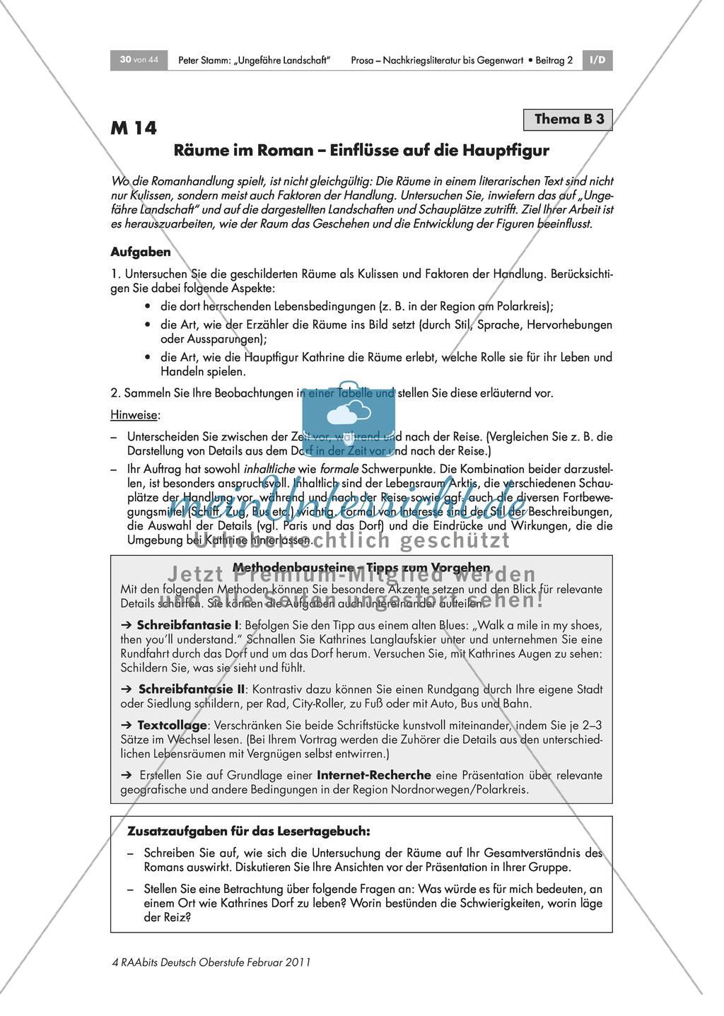 Inhaltliche und formale Analyse des Romans - Arbeit in Expertengruppen Preview 7