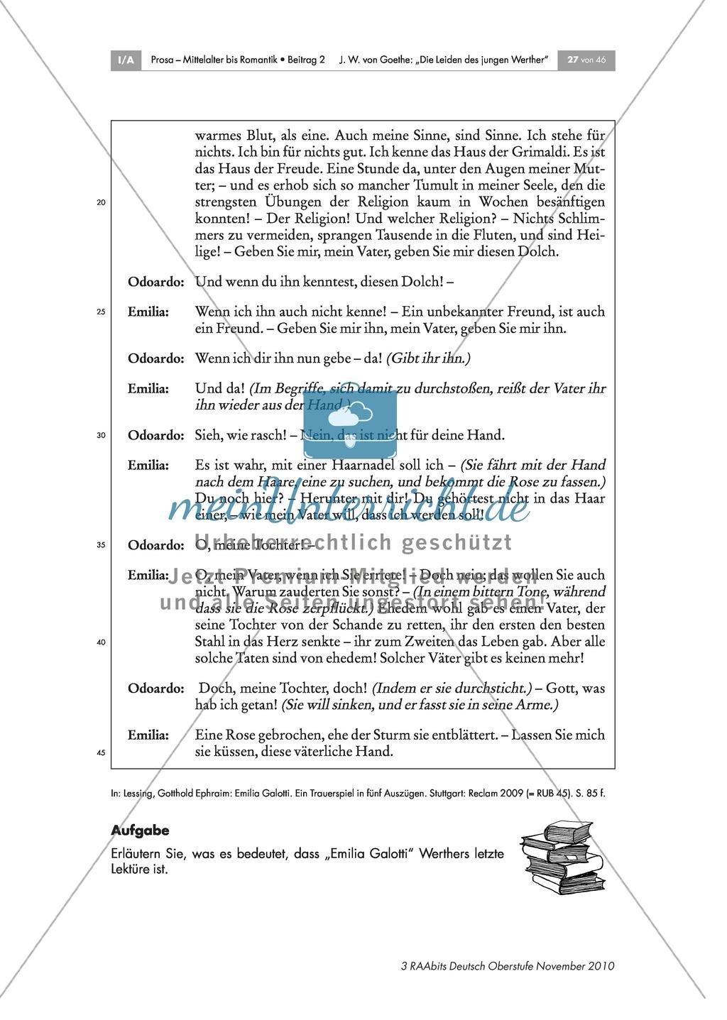Homer, Klopstock, Ossian - Werther als Leser Preview 3