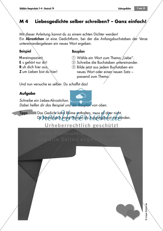Akrostichon verfassen Preview 0