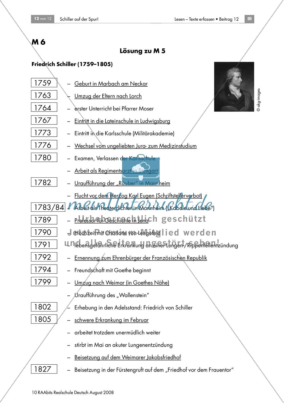 Schiller auf der Spur: Ein Brettspiel zur Biografie des Dichters Preview 11