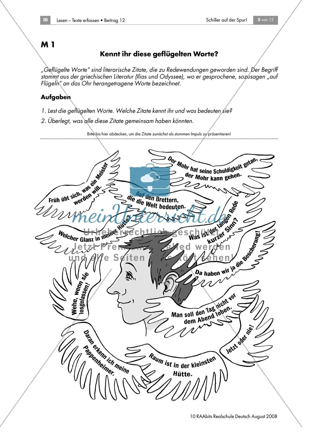 Schiller auf der Spur: Ein Brettspiel zur Biografie des Dichters Preview 4