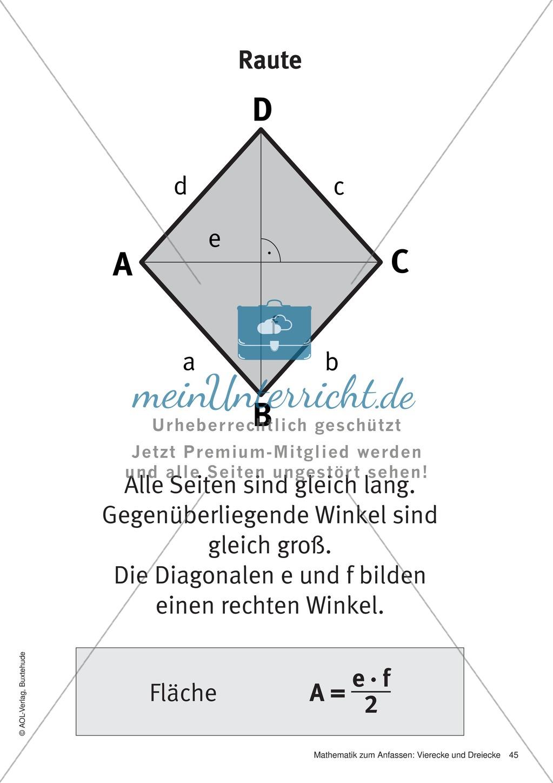 Gemütlich Fläche Eines Dreiecks Arbeitsblatt Bilder - Super Lehrer ...