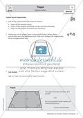 Mathematik, Geometrie, Raum & Form, Fläche, arbeitsblätter, trapez