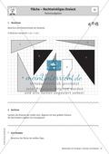 Stationenlernen zu Dreiecken: Kongruenzsätze und Dreieckskonstruktion sowie Umfang und Flächeninhalt Preview 11