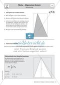 Stationenlernen zu Dreiecken: Kongruenzsätze und Dreieckskonstruktion sowie Umfang und Flächeninhalt Preview 13