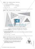 Stationenlernen zu Dreiecken: Kongruenzsätze und Dreieckskonstruktion sowie Umfang und Flächeninhalt Preview 18