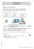 Stationenlernen zu Dreiecken: Kongruenzsätze und Dreieckskonstruktion sowie Umfang und Flächeninhalt Preview 3