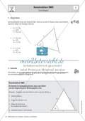 Stationenlernen zu Dreiecken: Kongruenzsätze und Dreieckskonstruktion sowie Umfang und Flächeninhalt Preview 4