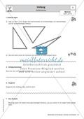 Stationenlernen zu Dreiecken: Kongruenzsätze und Dreieckskonstruktion sowie Umfang und Flächeninhalt Preview 9
