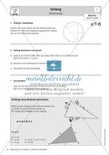 Umfang und Flächeninhalt von rechtwinkligen und allgemeinen Dreiecken Preview 1