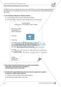 Erstellung eines formalen Anschreibens binnendifferenziert Preview 2