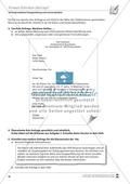 Erstellung eines formalen Anschreibens binnendifferenziert Preview 5
