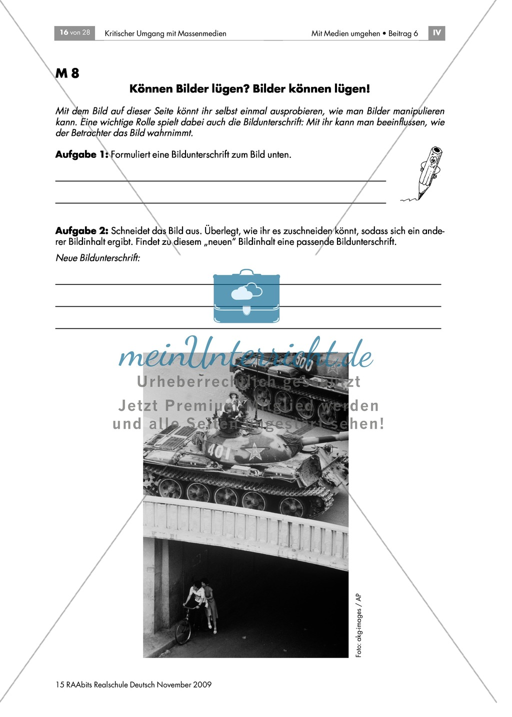Die Wirkung von Bildern + Bildmanipulation Preview 2
