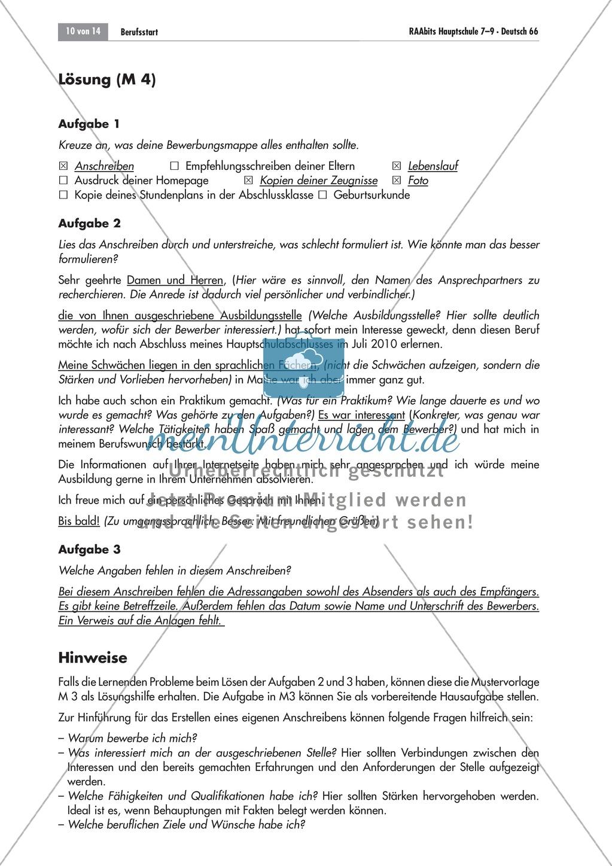 Berufsvorbereitung: Bewerbungstraining Preview 9