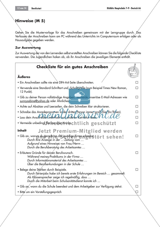 Berufsvorbereitung: Bewerbungstraining Preview 11
