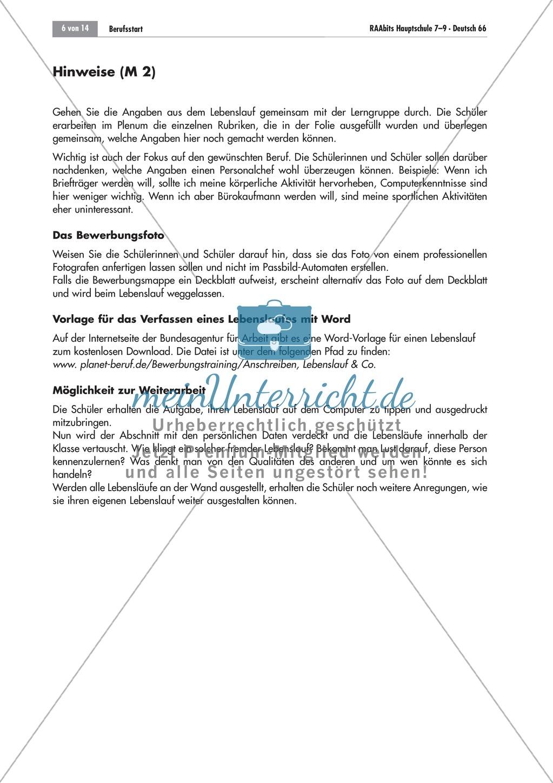 Berufsvorbereitung: Bewerbungstraining Preview 5