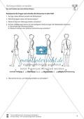 Bau und Funktion des menschlichen Körpers: Wirbelsäule, Körperhaltung - Vertretungsstunde Preview 2