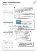Vermischte Aufgaben zur schriftlichen Muliplikation Preview 7
