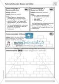 Aufgaben zum Umgang mit Größen und Maßzahlen in Partnerarbeit Preview 1