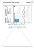 Aufgaben zum Umgang mit Größen und Maßzahlen in Partnerarbeit Preview 2
