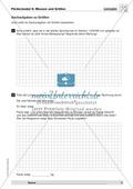 Textaufgaben zur Messung verschiedener Größen- und Maßangaben Preview 1