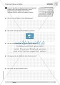Textaufgaben zur Messung verschiedener Größen- und Maßangaben Preview 2