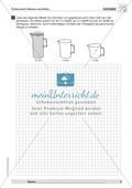 Textaufgaben zur Messung verschiedener Größen- und Maßangaben Preview 3