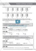 Gemischte Aufgaben zur Bruchrechnung und zur Prozentschreibweise Preview 1
