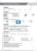 Gemischte Aufgaben zur Bruchrechnung und zur Prozentschreibweise Preview 4