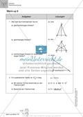 Aufwärmübungen zur Größenberechnung und im Umgang mit Maßzahlen, Partnerarbeit möglich Preview 2