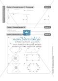 Stationenlernen Geometrie, Übungen zum Umgang mit dem Geodreieck Preview 15