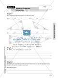 Stationenlernen Geometrie, Übungen zum Umgang mit dem Geodreieck Preview 12