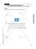 Stationenlernen Geometrie, Übungen zum Umgang mit dem Geodreieck Preview 2