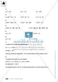 Vorschläge für eine Klassenarbeit zum Thema Terme und Gleichungen Preview 6