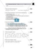 Geometrie, Klassenarbeit zur Konstruktion von Vielecken Preview 1