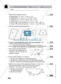 Geometrie, Vorschlag für eine Klassenarbeit oder Lernkontrolle zur Konstruktion von Vielecken Preview 1