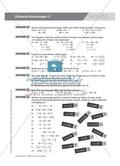 Übungsaufgaben zu mathematischen Gleichungen und Auffrischung der Definitionen und Regeln Preview 4