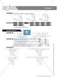 Übungsaufgaben zu mathematischen Gleichungen und Auffrischung der Definitionen und Regeln Preview 9
