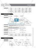Aufgaben und Beispiele zur Berechnung des Flächeninhalts von Parallelogramm, Dreieck und Trapez Preview 8