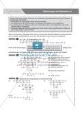 Regeln zum Auflösen von Klammern in Gleichungen, mit Beispielen und Aufgaben Preview 1