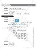 Rechenregeln zu den drei binomischen Formeln, mit Beispielrechnungen und Übungsaufgaben Preview 6