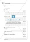 Lernkontrolle und Einstufungstest zum Thema Gleichungen und Terme, mit Auswertungsbogen Preview 1
