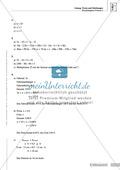 Lernkontrolle und Einstufungstest zum Thema Gleichungen und Terme, mit Auswertungsbogen Preview 5