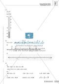 Lernkontrolle und Einstufungstest zum Thema rationale Zahlen, mit Auswertungsbogen Preview 6
