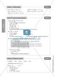 Stationenlernen zum Themenfeld quadratische Gleichungen Preview 13