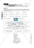Stationenlernen zum Themenfeld quadratische Gleichungen Preview 2
