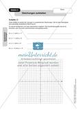 Stationenlernen zum Themenfeld quadratische Gleichungen Preview 4